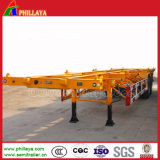 Transport Containers Cimc Skeleton Container Trailer Long Vehicle