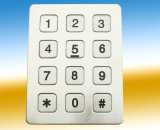 Sixteen Buttons Stainless Steel Keypad K6 Kntech