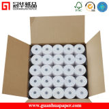 "SGS 80mm (3 1/8"") Thermal Cash Register Paper Roll"