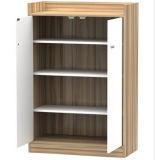 Melamine MDF or Particle Board Shoe Cabinet Furniture