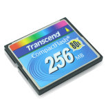 256MB Compactflash CF Memory Card Flash Card Transcend 80X Card