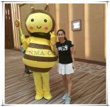 Sweet Animal Mascot Bee Mascot Costume Attending Burning Calories Lecture