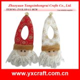Christmas Decoration (ZY14Y106-1-2) Christmas Doorknob Hanger China Product