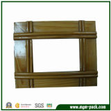 China Manufacturer Brown Wooden Picture Frame for Decoration