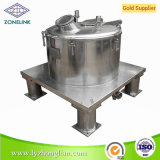 Pd1000 Series Flat Lift Bag Basket Filter Centrifugal Separator