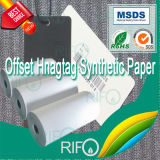 Hot Sell Coated Synthetic BOPP Film for Lithographic Press Printable