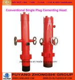 API Single Valve Cementing Head with Quick Change Adapter/Cement Head