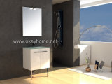 Fsc MDF Bathroom Cabinet with PVC Cover (9006--60)