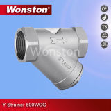CF8m Y Strainer 800wog BSPT/Bsp/NPT
