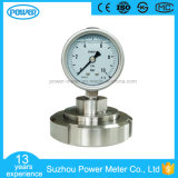 63m All Stainless Steel Case Diaphragm Pressure Gauge