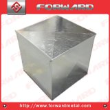 Custom Sheet Metal Support with Zinc Plates Box