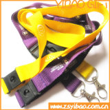 Custom Cmyk Printing Lanyard with Safety Hook (YB-LY-12)