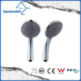 High Quality Fashionable ABS Round Hand Shower, Hand Held Shower Head, Shower