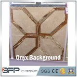 High End Onyx Mosaic Background Wall --Medallion Style for Wall