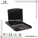 "8 Ports 19"" Cat5 LCD Kvm Switch with IP"