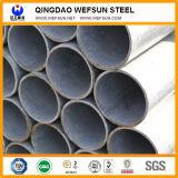 Mild Carbon Top Sales Galvanized Round Steel Tube