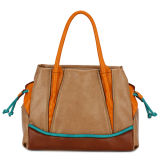 Newest Wholesale Contrast Color Designer Handbag (MBNO032139)