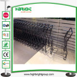Convenient Store Supermarket Metal Basket Trolley