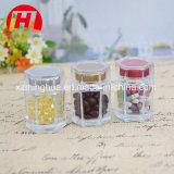 New Designed Clear Hexagonal Glass Jar for Honey