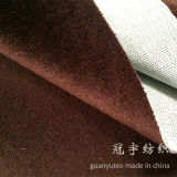 Decorative Cloth Home Textile Short Pile Veour Fabric for Sofa