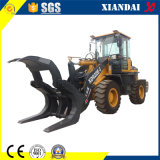 Xd922 1.8ton Wood Clamp with Quick Coupler Shovel Loader Forest Machine