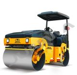 China New Full Hydraulic Double Drum Road Compactor 4.5 Ton