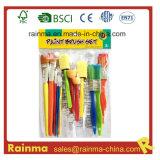 Bleached Bristle Paint Brush for School Kids