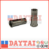 CATV Quick Spiral Connector for Rg59/RG6