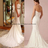 Mermaid Wedding Gowns Lace Sweetheart Bridal Wedding Dresses Z804