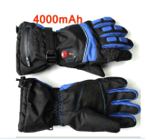 Whole Hand Warm Waterproof Electric Heating Sking Gloves