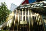 Gold Mirror Exterior and Interior Decoration Aluminum Composite Panel-Aludong