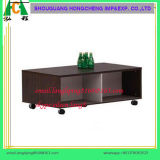 Cheap Flat Package Melamine MDF Movable TV Stand