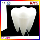 Hot Sale Dental Decoration Teeth Shape Light with Ce Approved