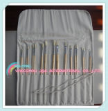 Palette with Bags for Artist Bristle Oil Painting Brushes