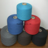Factory Supplier Wholesales 16s/1 21s/ 30s/1 100% Polyester Ring Spun Yarn for Knitting and Weaving