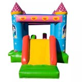 Inflatable Princess Combo Castle, Inflatable Slide Bouncer, Bouncing House Inflatable