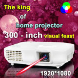 Support IPTV& TV Box Full HDMI 1080P LCD Projector (X2000PX)