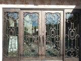 Residential Low Price Wrought Iron Security Doors Entry Door