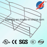 Hot Dipped Galvanised Straight Edge Wire Mesh Cable Tray with SGS and UL