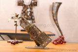 Retro Style Metal Wine Rack Wine Display (J217)
