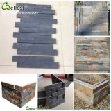 Natural Slate Wall Stone Panel Natural Stone Veneer for Interior/Exterior Wall Cladding