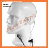 Acoustic Tube Earphone with Small Lapel Ptt