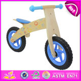 Children Wooden Balance Bike with 12 Inch Wheels (W16C018)