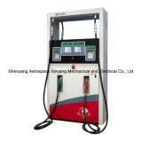 Gas Station (Double oil four nozzles four display four flow meters widebody machine)