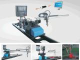 portable ZNC-2300D CNC plasma flame cutting device for sheet metal