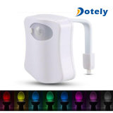 8 Colors Body Sensing LED Motion Sensor Night Lamp Toilet Light