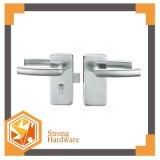 Glass Door Zinc Alloy Lock with Lever Handles Door Lock