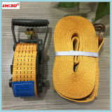 Polyester Cargo Lahing Straps Ratchet Tie Down