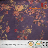 Printed Micro Polyester Suede Fabric for Garment