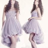 Purple Cocktail Prom Party Dress Short Evening Dress T921